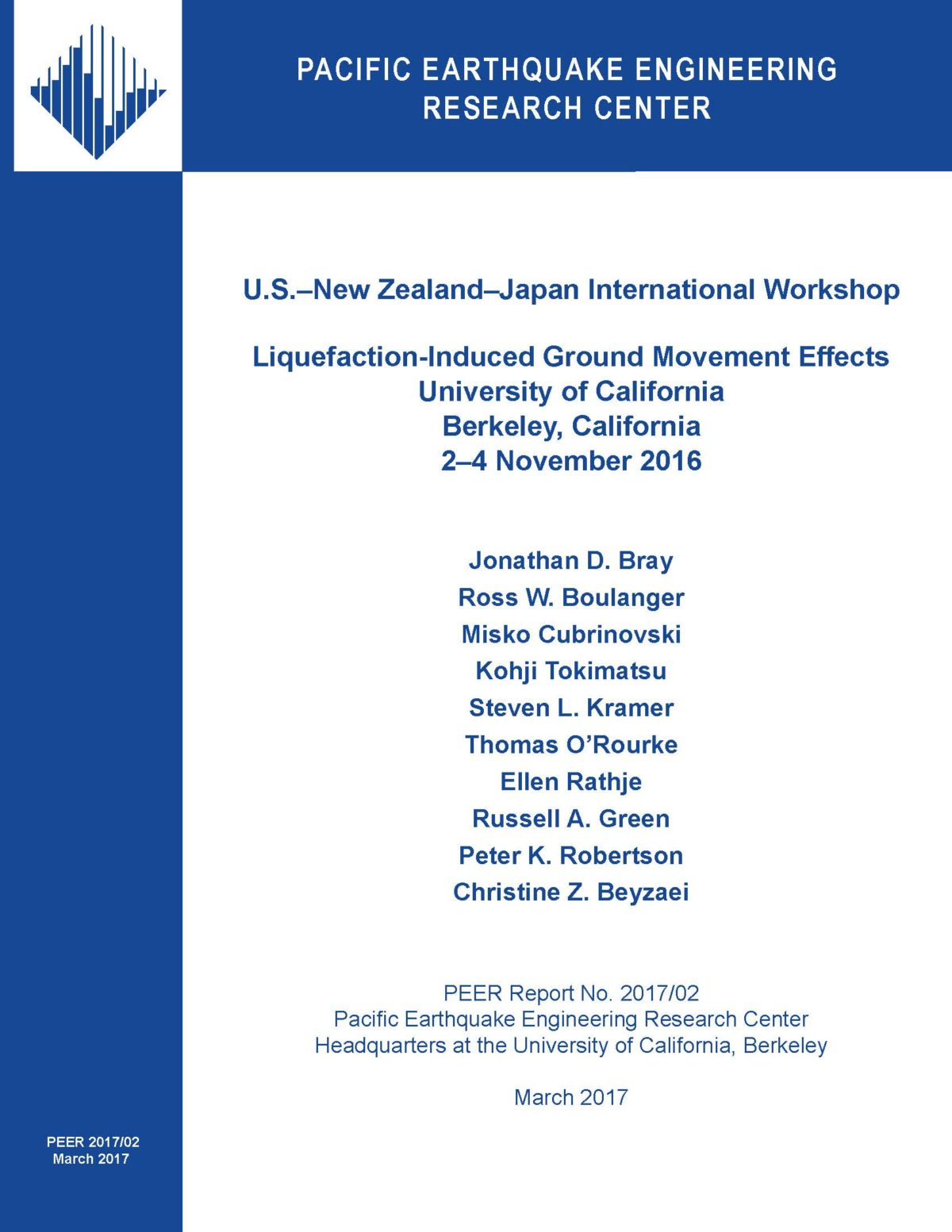 Liquefaction-induced ground movements effects