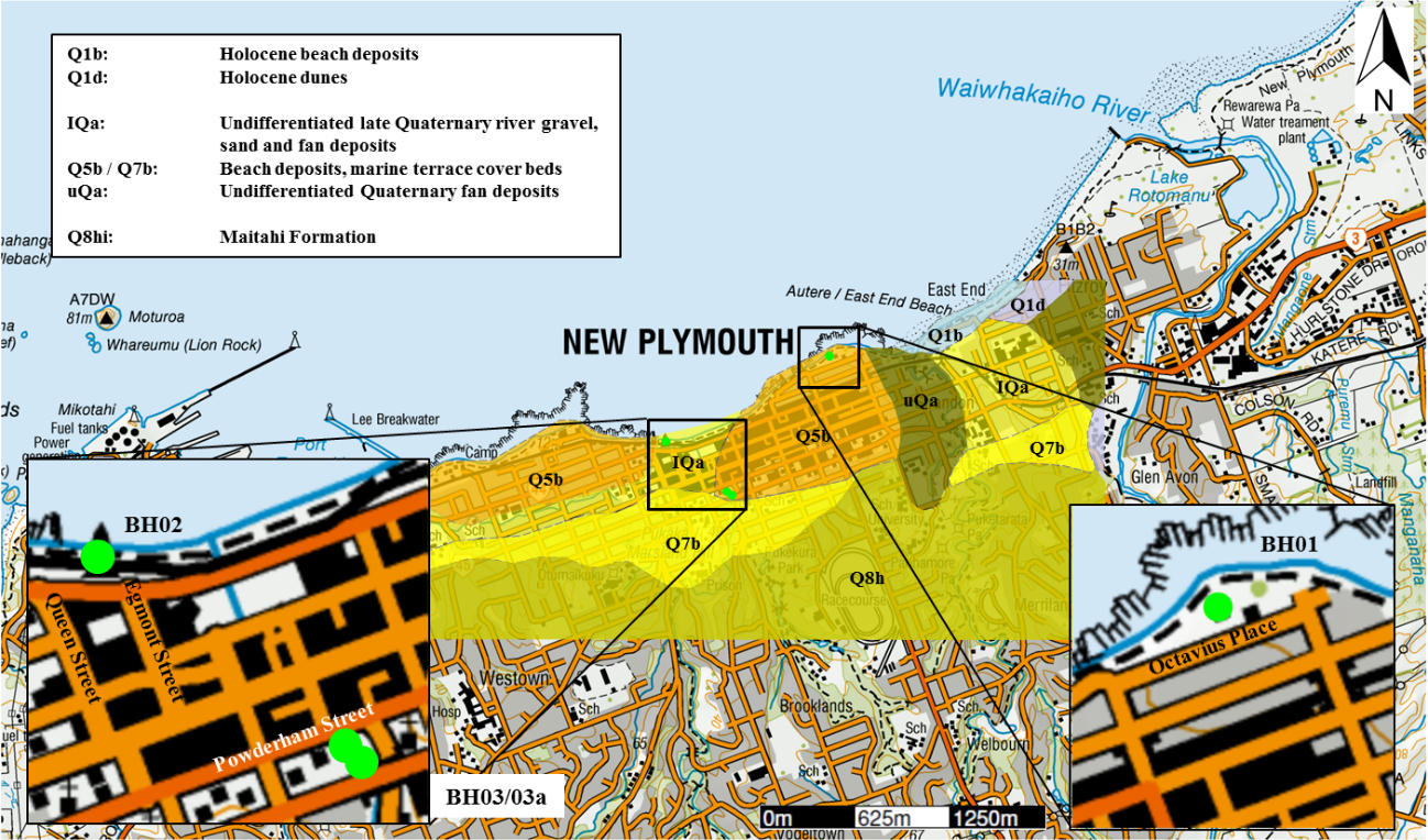 New Plymouth CBD Site Subsoil Class: Results from ground ...